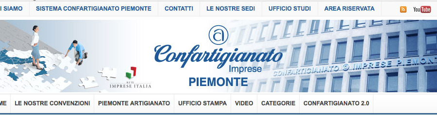 Confartigianato Piemonte rinnova il proprio portale